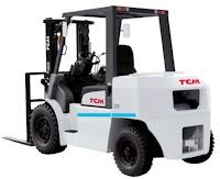 Xe nâng diesel 3.5 - 5.0 tấn TCM Nhật Bản