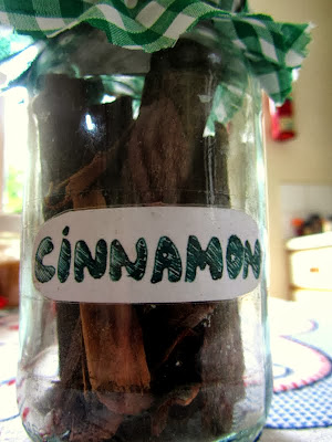 jar of cinnamon