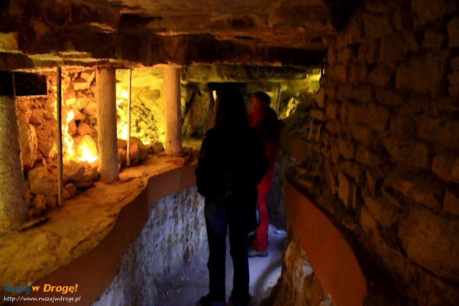 krzemionki  - prehistoryczna kopalnia krzemienia