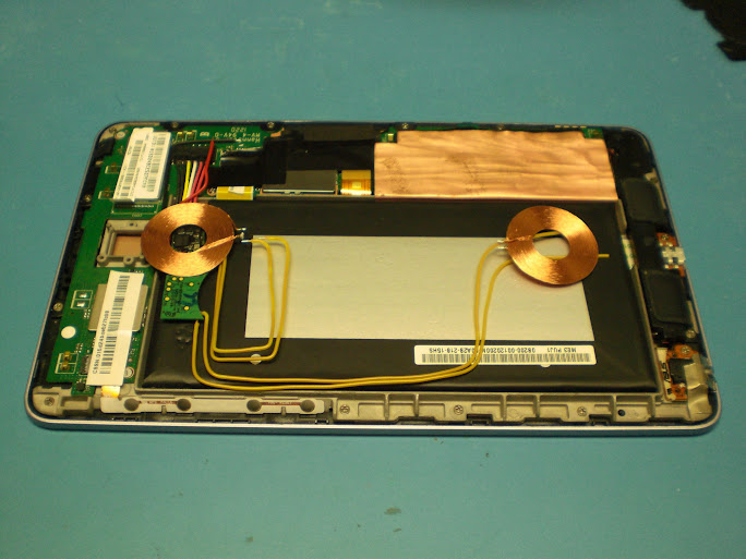 Hardware] Nexus 7 Inductive Charging Mod (using Palm Touchstones