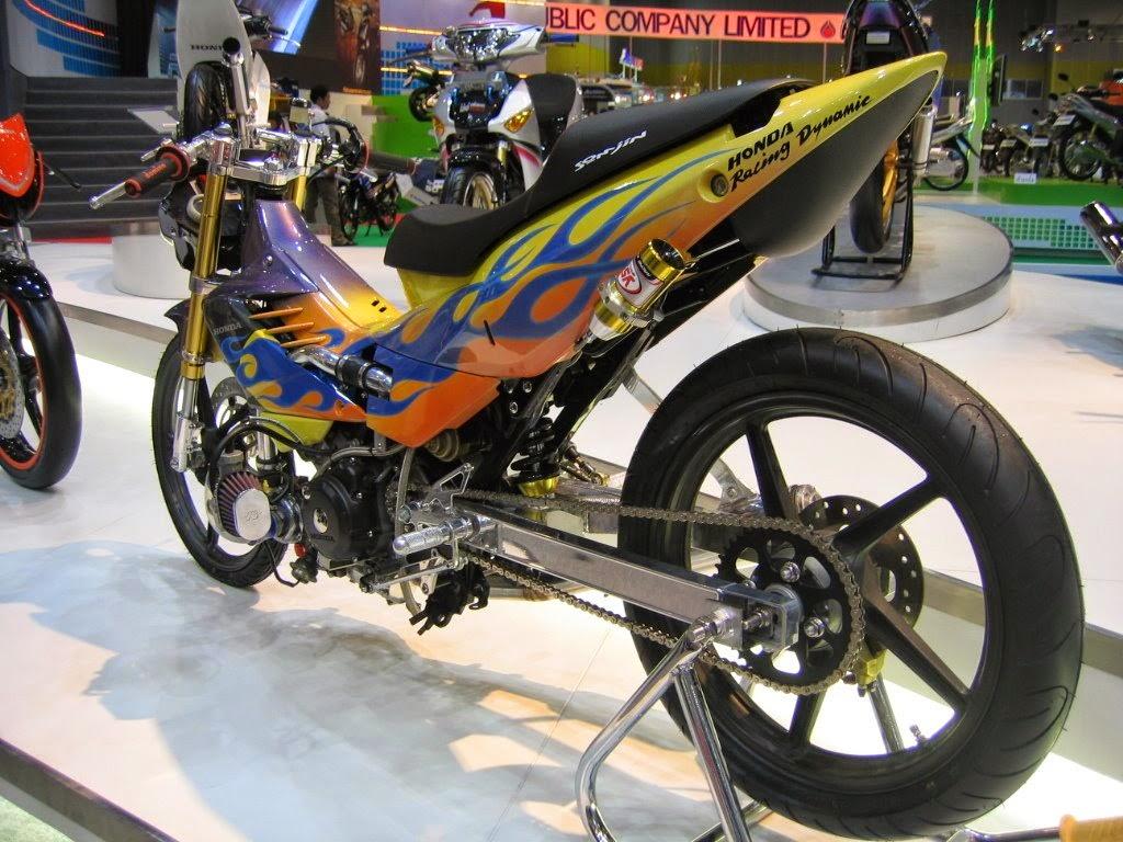 Motor Smash Modifikasi Satria Fu