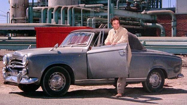 La Peugeot 403 cabriolet du détective Columbo