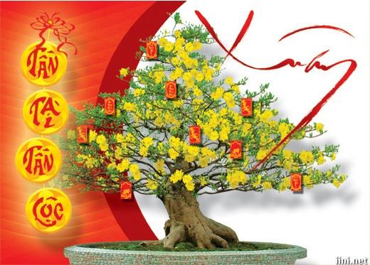 Thơ mừng Xuân mới 4 câu hay