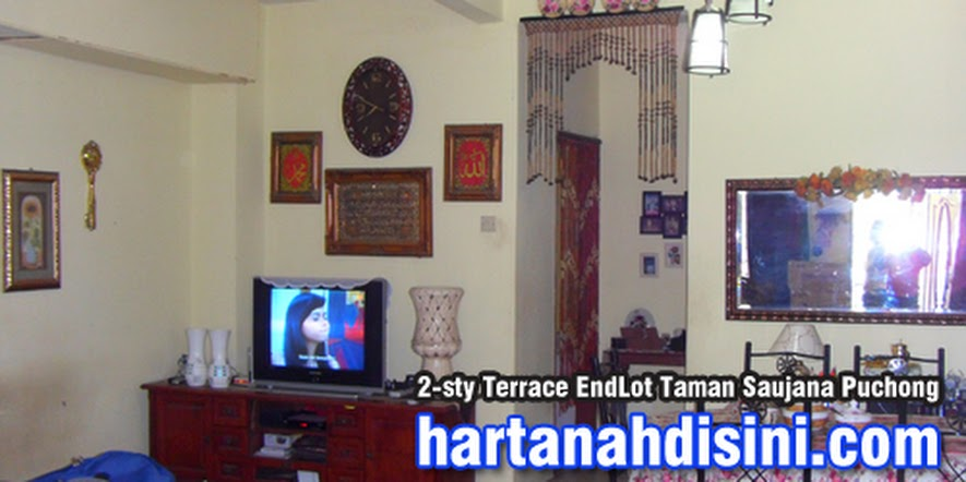 Thumbnail image for Teres 2 Tingkat End Lot: Taman Saujana Puchong