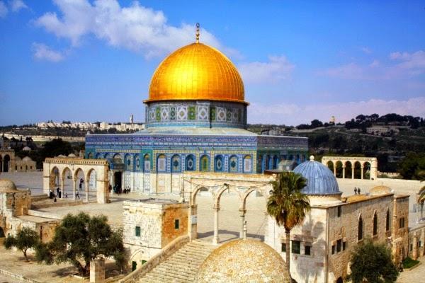Dos monumentos de Jerusalén