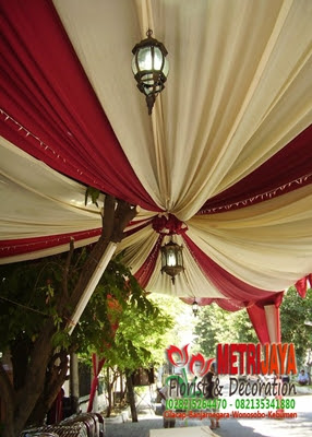 wedding decoration / dekorasi pengantin tradisionalpurwokerto