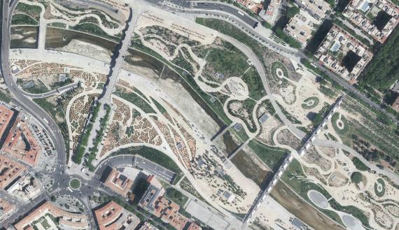 Las fotos de satélite del Ayuntamiento de Madrid en el Programa de Observación de la Tierra