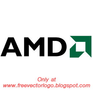 AMD logo vector