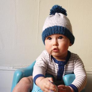 Free Baby Beanie Pattern