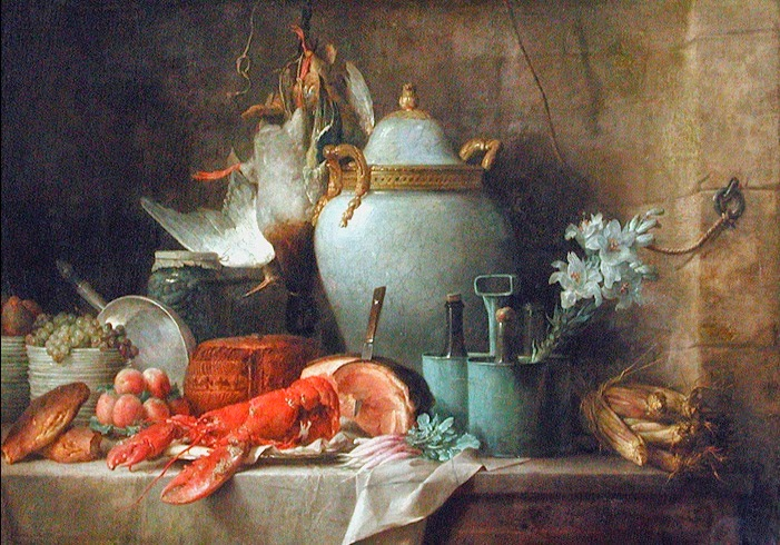 Anne Vallayer-Coster - Still life With Lobster, 1781