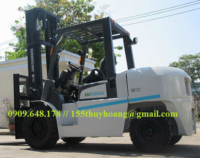 Xe nâng diesel 5 tấn Nhật Bản Unicarriers