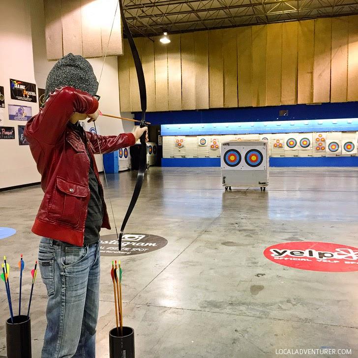 Archery Las Vegas.