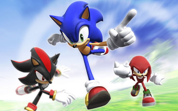 Vài hình nền đẹp về chú nhím xanh Sonic - Ảnh 4