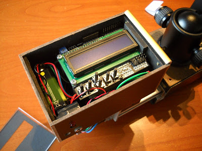 16 - Another view of the electronics box