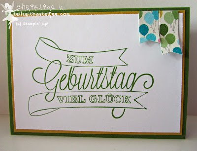 stampin up, dein tag, another great year, banner, birthday, geburtstag