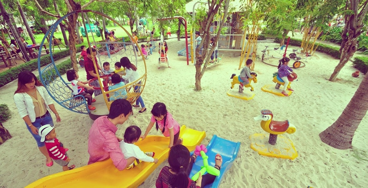Căn hộ Goldlight Complex là nơi con trẻ phát triển toàn diện