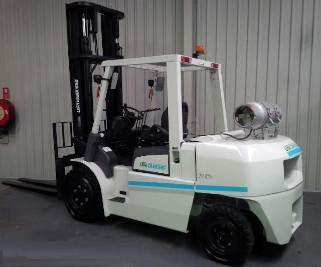 Xe nâng chạy xăng gas 4 - 5 tấn