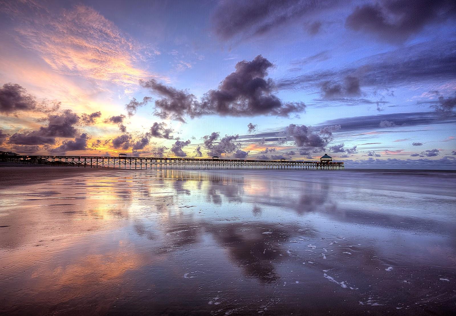 Folly Beach South Carolina Sunrise