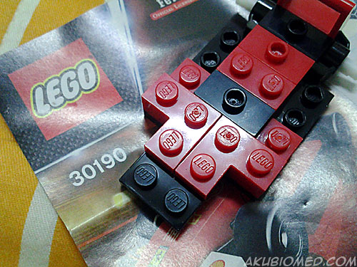 pasang ferrari lego shell v power