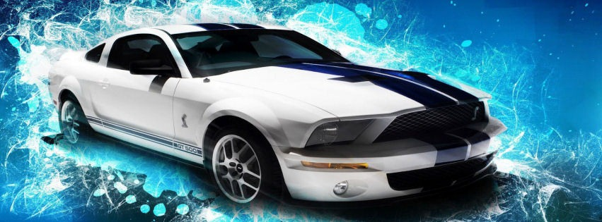 Ford Mustang GT600 facebook kapak fotoğrafı