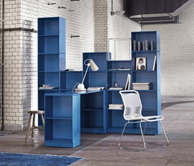 minimalist colorful furniture for home and office 6 554x474 Rak Dan Laci Modular Minimalis Yang Berwarna Warni