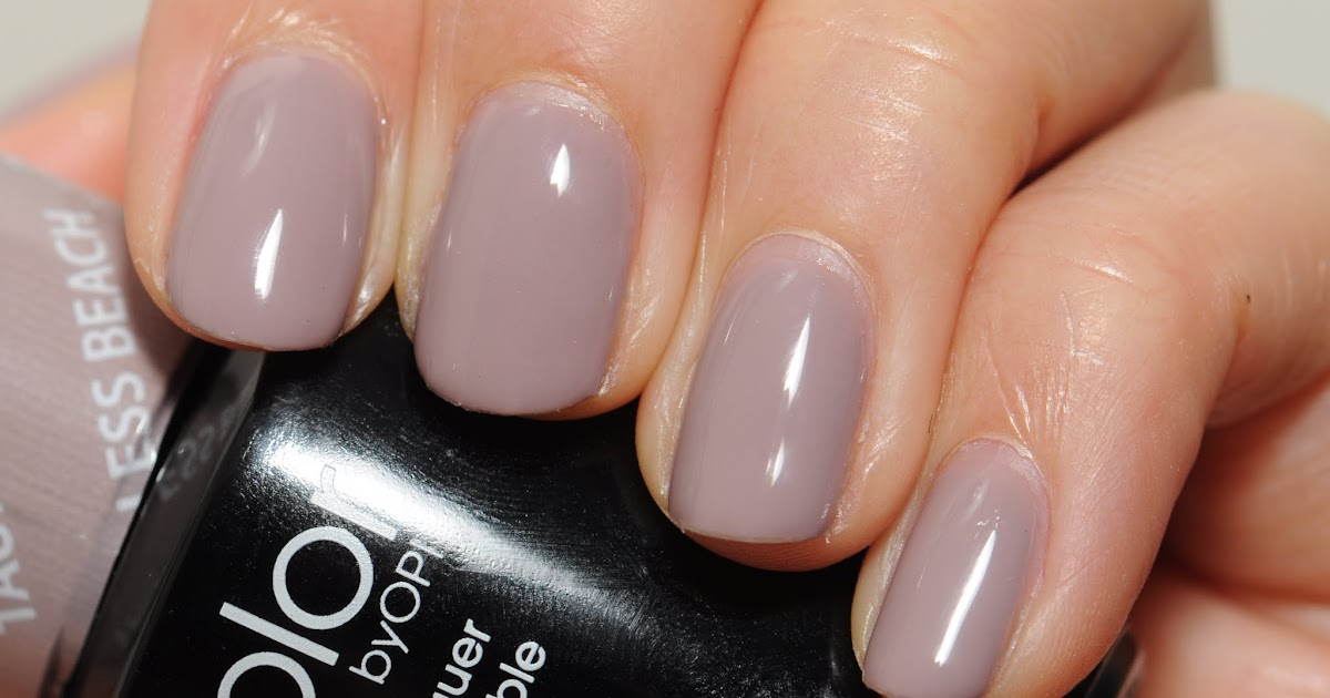 Spaz Amp Squee Opi Gelcolor Taupe Less Beach And Comparison