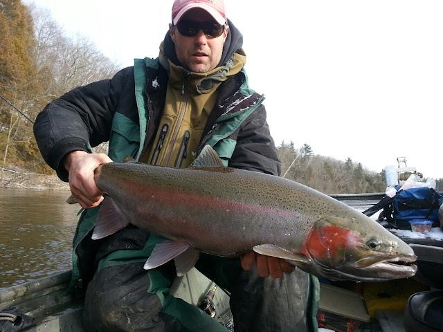 Muskegon River Steelhead Fishing Guide Services