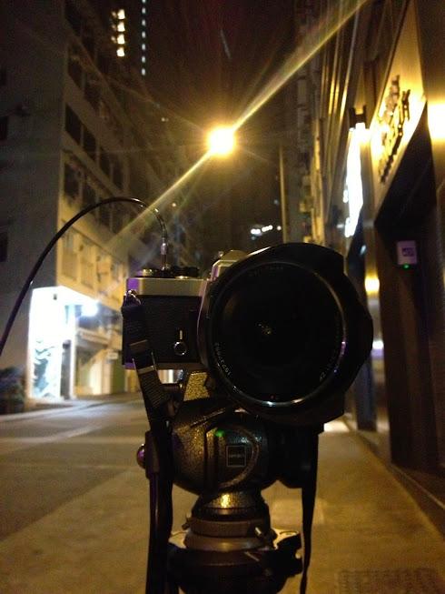 ZF 21mm f2.8 夜攝中上環