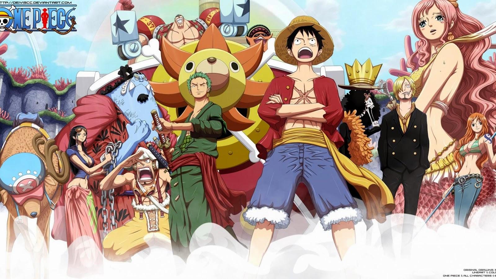 One Piece New World Wallpaper
