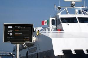 Ferry in Naples