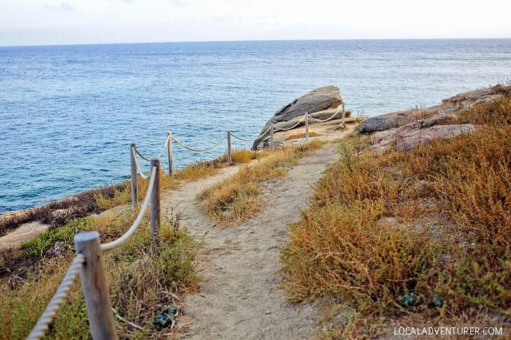 Hike to Paradise Mykonos Beach.