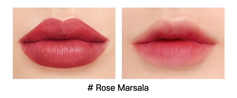 Son INGA Flat Liquid Lipstick Rose Marsala