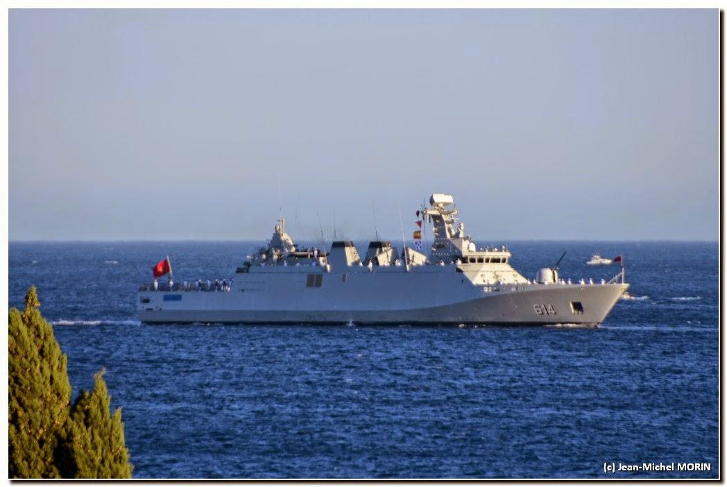 La Marine Royale à la revue navale de Toulon - 15 août 2014 - Page 2 DSC_0054