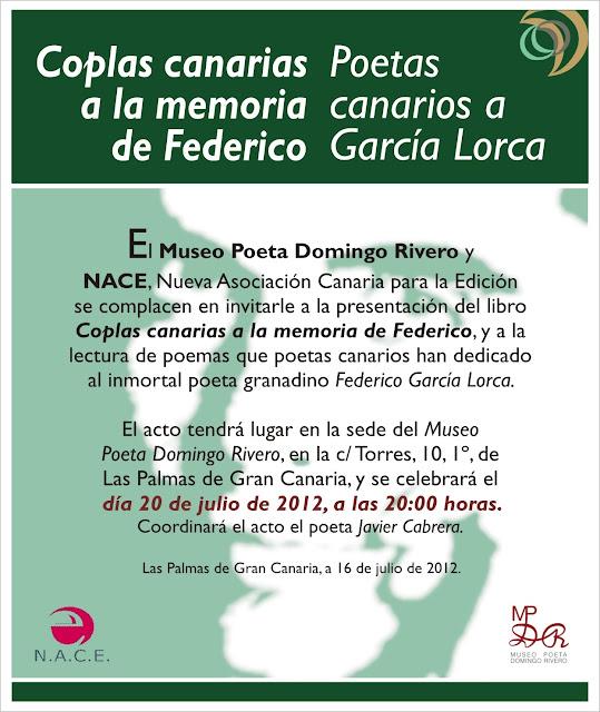 Nace Nueva Asociación Canaria De Escritores Presentación