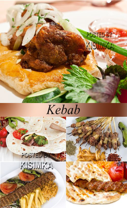 Stock Photo: Shish kebab 5