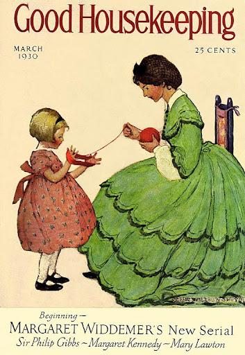Vintage Good Housekeeping Magazine Covers Good Housekeeping Magazine March 1930