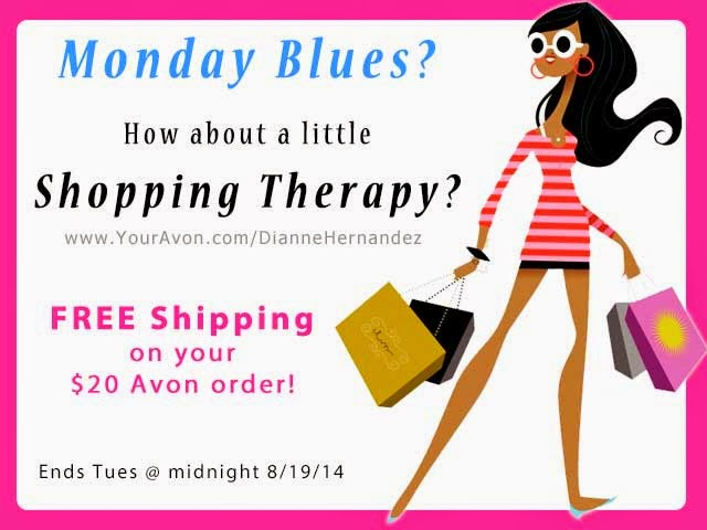 Free Shipping on your $20 Avon Order!