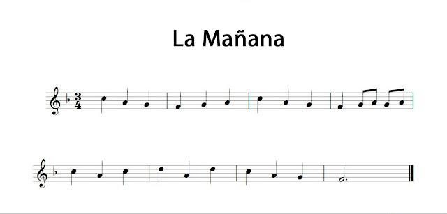 Aquí tenéis La Mañana de Grieg para flauta, violin, trompeta, saxofón alto, tenor, soprano, oboe, fliscorno, baritono, trompa, corno inglés, clarinete... y todos los instrumentos en clave de sol