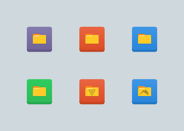 Numix Square Folders