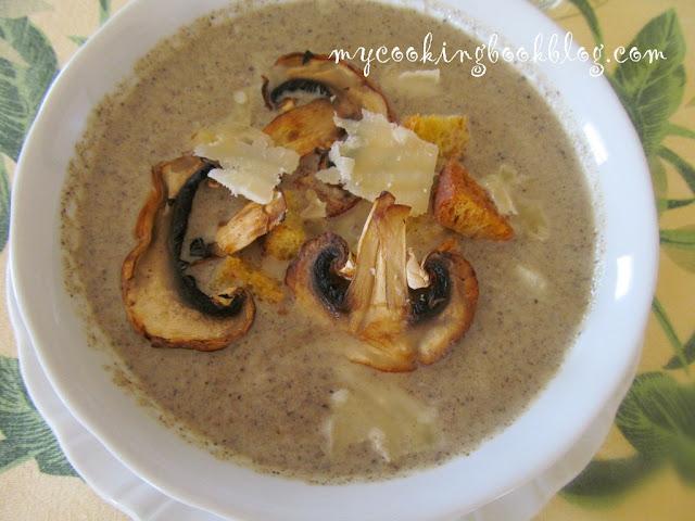 Крем супа от гъби или Mushroom Velouté