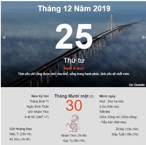 Dự đoán kết quả xsmb ngày 25/12/2019 theo phong thủy