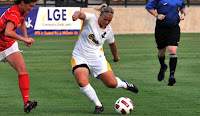 Katrina Frost Kennesaw State Owls 2011 Atlantic Sun All-Freshm​an Team 2011 Atlantic Sun 2nd Team All-Confer​ence 2011 Top Drawer Soccer Top 100 Freshmen in Nation
