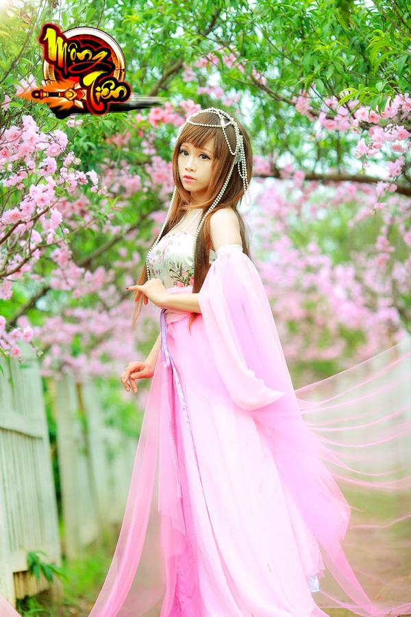 Chibi Bunny tung cosplay Mộng Tiên tuyệt đẹp 3