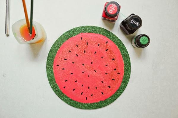 Pintar melancia