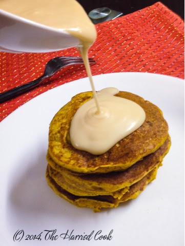 Carrot Cake Pancakes From Mix