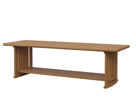 Urbana Coffee Table in Manor Hickory
