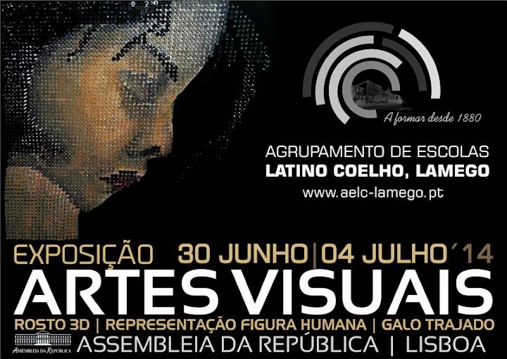 """Exposição """"ARTES VISUAIS"""" - Agrupamento de Escolas Latino Coelho"""