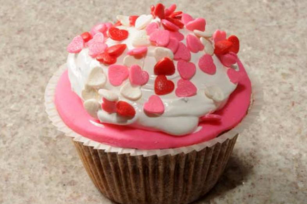 Cupcake de Banana com Merengue