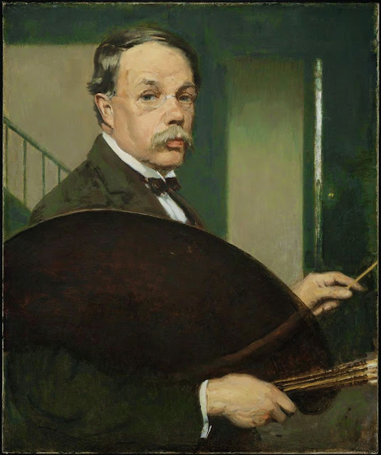 Philip Leslie Hale - Self Portrait