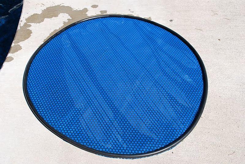 Passive Heat Using Homemade Solar Disks